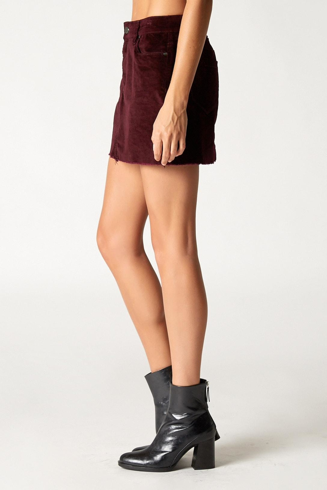 Blank NYC Wine Buzz Skirt - Front Full Image