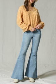 Vintage High Waisted Trousers, Sailor Pants, Jeans Flared Super Bells $80.00 AT vintagedancer.com