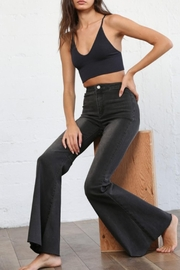 By Together Super Flared Bellbottoms - Front full body