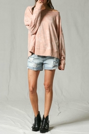 Blank Paige Washed Tie-Dye Pullover - Product Mini Image