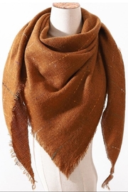 Olive and Pique Blanket Scarf - Front cropped