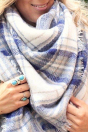 Beautifull Boundaries Blanket Scarf Oversized Square - Front cropped