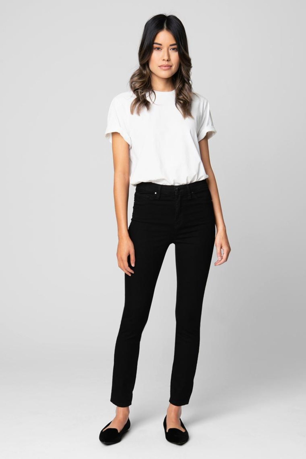 BlankNYC Blank Nightchild Skinny - Front Cropped Image