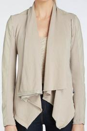 BlankNYC Cotton Vegan Drape Jacket - Product Mini Image