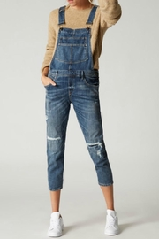 BlankNYC Distressed Denim Overalls - Product Mini Image