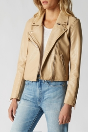 BlankNYC Faux Leather Moto - Front full body