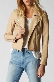 BlankNYC Faux Leather Moto - Front cropped