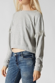BlankNYC Hand-Beaded Sweatshirt - Product Mini Image
