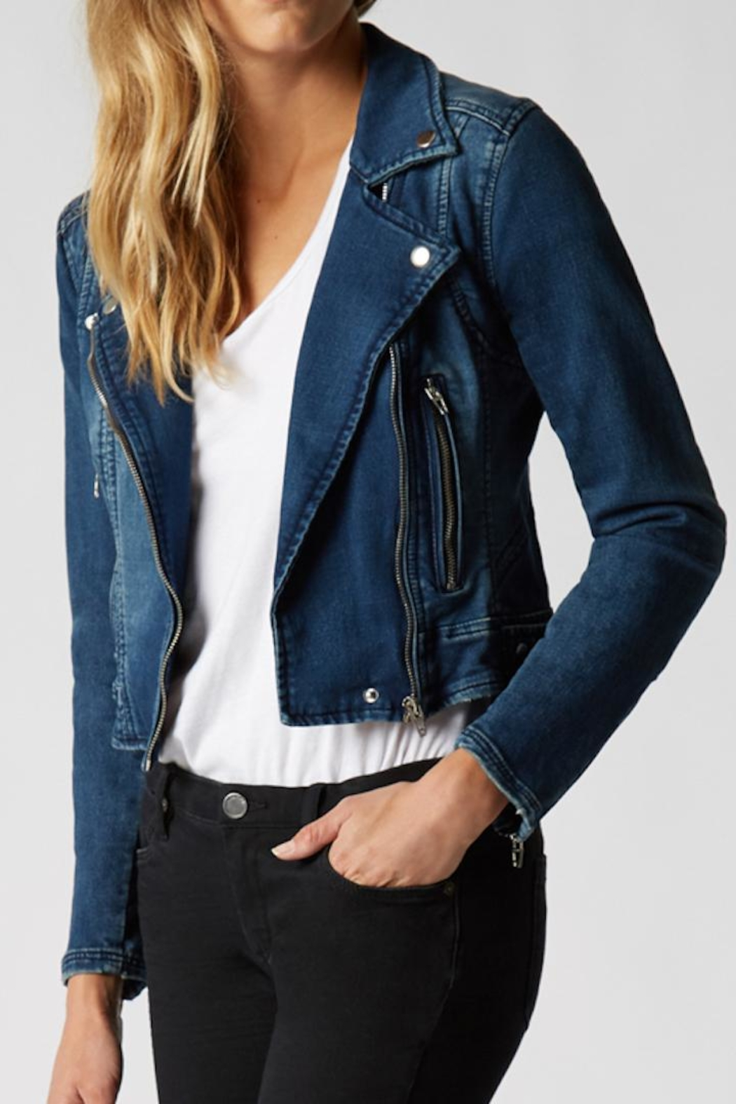 b855807ae8 BlankNYC Jean Moto Jacket from Massachusetts by Rose s Corner ...