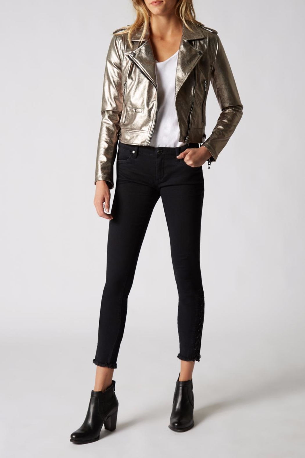 BlankNYC Metallic Jacket - Main Image