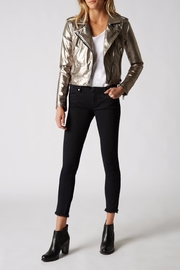BlankNYC Metallic Jacket - Front cropped