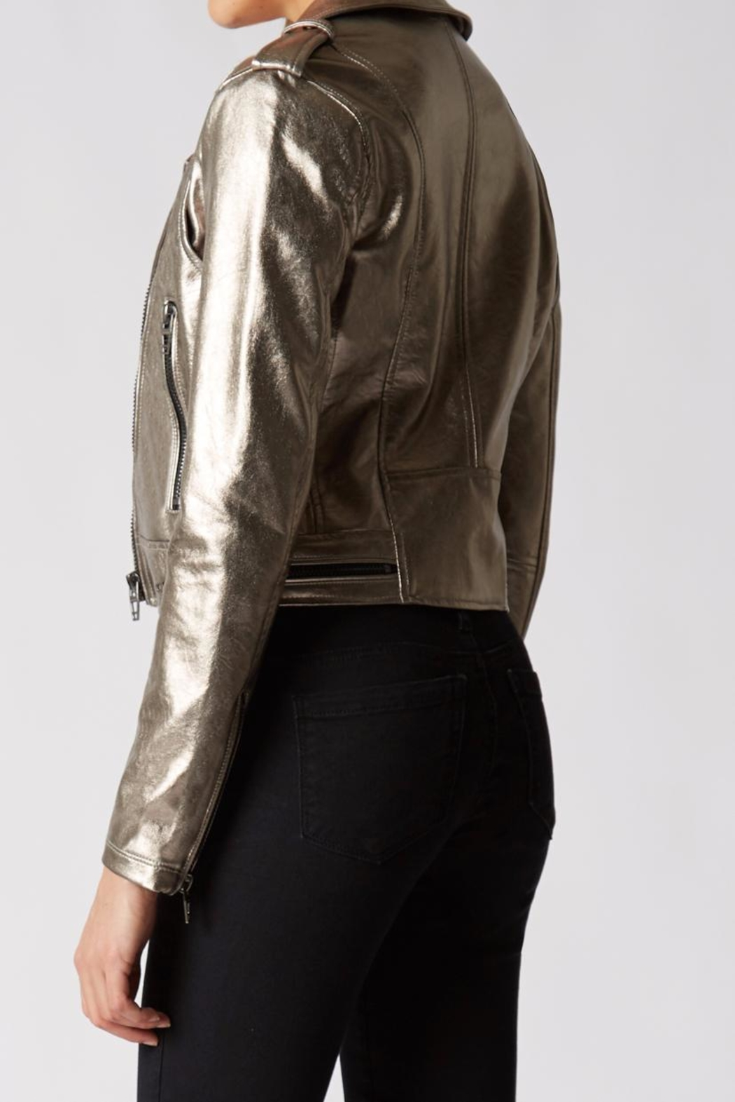 BlankNYC Metallic Jacket - Front Full Image