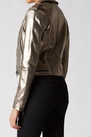 BlankNYC Metallic Jacket - Front full body
