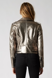 BlankNYC Metallic Jacket - Side cropped