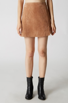 Shoptiques Product: Sexy Suede Skirt