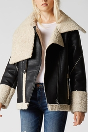 BlankNYC Sherpa-Lined Jacket - Product Mini Image
