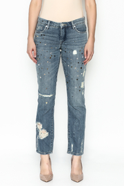 BlankNYC Studded Jeans - Front full body