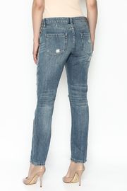 BlankNYC Studded Jeans - Back cropped