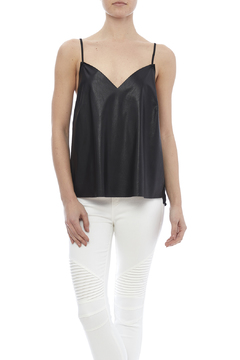 Shoptiques Product: Black Vegan Leather Top