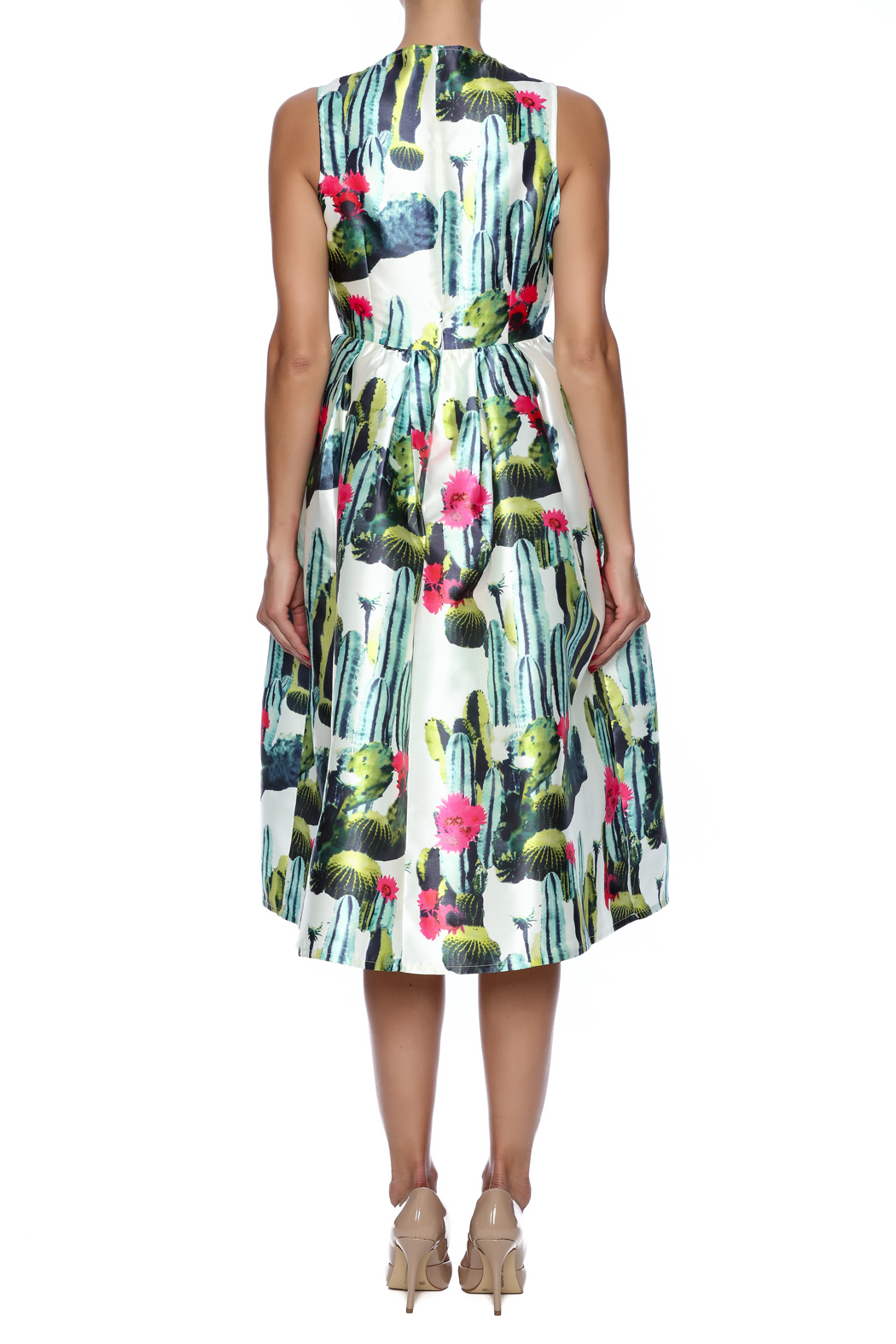 Blaque Label Cactus Print Dress From Texas By The Hen