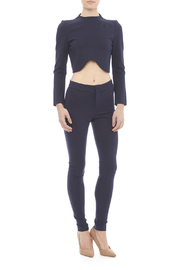 Blaque Label Kinit Navy Pants - Front full body