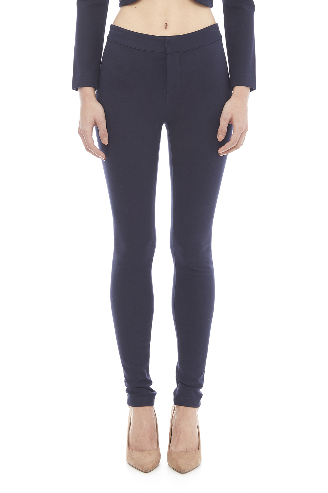 Blaque Label Kinit Navy Pants - Main Image