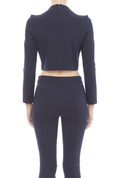 Shoptiques Product: Navy Crop Top