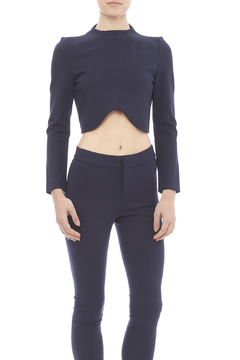 Blaque Label Navy Crop Top - Product List Image