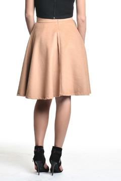 Shoptiques Product: Camel High-Waisted Skirt