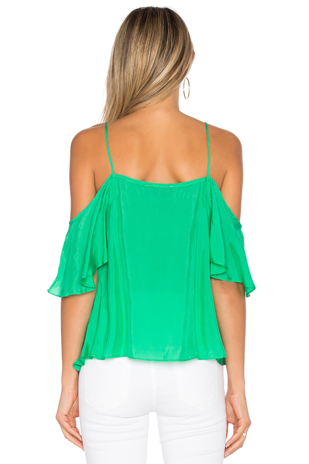 Blaque Label Ruffle Top - Back Cropped Image