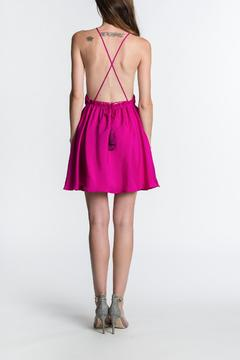Shoptiques Product: Silk X-Back Dress