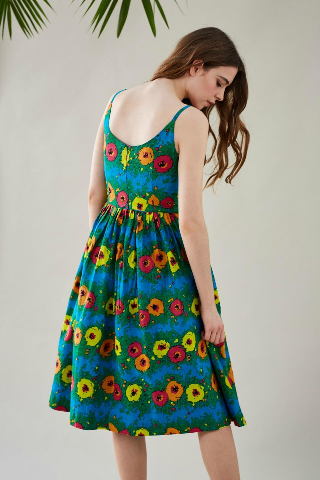 Emily & Fin Blazing Blooms Dress - Front Full Image