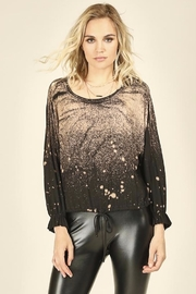 Vintage Havana  Bleach Splatter Top - Product Mini Image