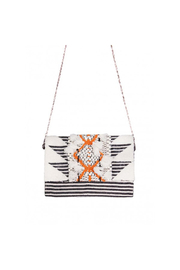 America & Beyond Bleached Sand Clutch - Product Mini Image