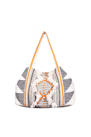 America & Beyond Bleached Sand Shoulder Bag - Product Mini Image