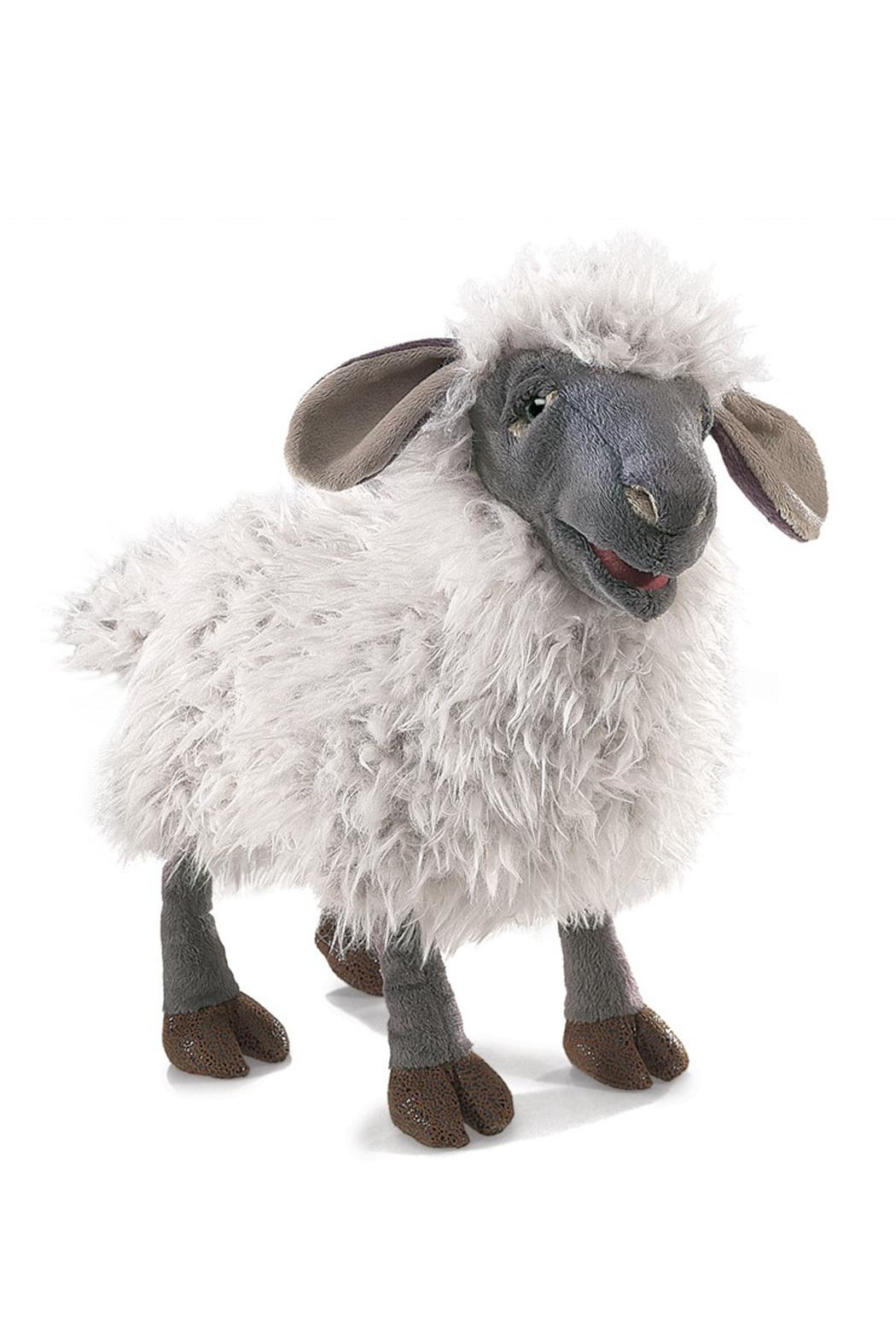 Folkmanis Bleating-Sheep Hand Puppet - Main Image