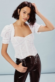 FOR LOVE & LEMONS Bleau Top - Front cropped