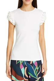 Ted Baker London Blere Floral-Applique Tee - Product Mini Image
