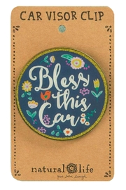Natural Life Bless-This-Car Clip - Product Mini Image