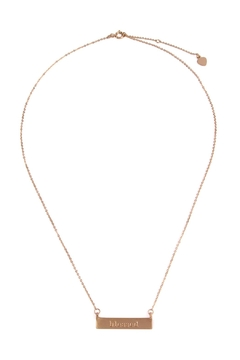 Riah Fashion Blessed-Charm Pendant Necklace - Product List Image
