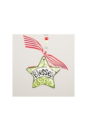 Glory Haus Blessed Star Ornament - Product Mini Image
