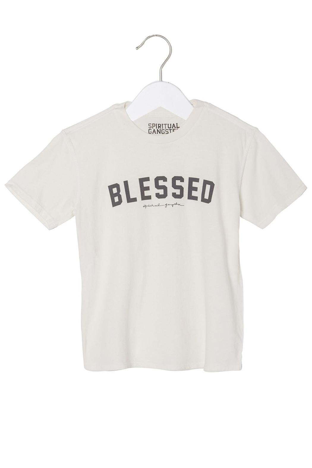 SPIRITUAL GANGSTER Blessed Tee - Main Image