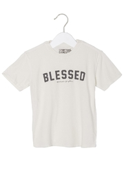 SPIRITUAL GANGSTER Blessed Tee - Front cropped