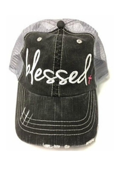 OCEAN & 7TH Blessed Trucker Hat - Product List Image
