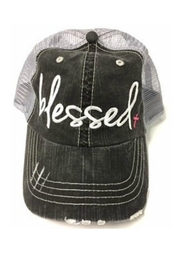 OCEAN & 7TH Blessed Trucker Hat - Product Mini Image