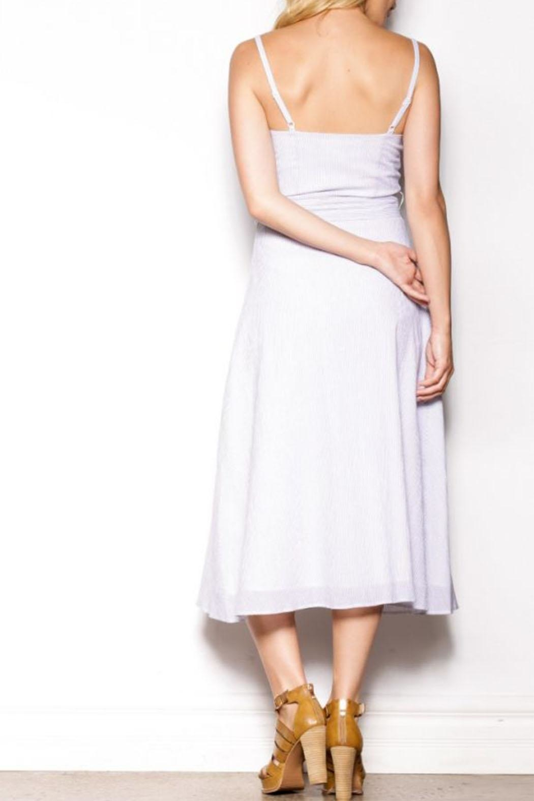 Pink Martini Collection Blessing Ties Dress - Side Cropped Image