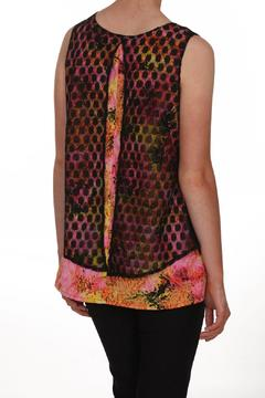 Shoptiques Product: Lace Overlay Top