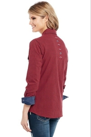 Cowgirl Up Bling Western Shirt - Front full body