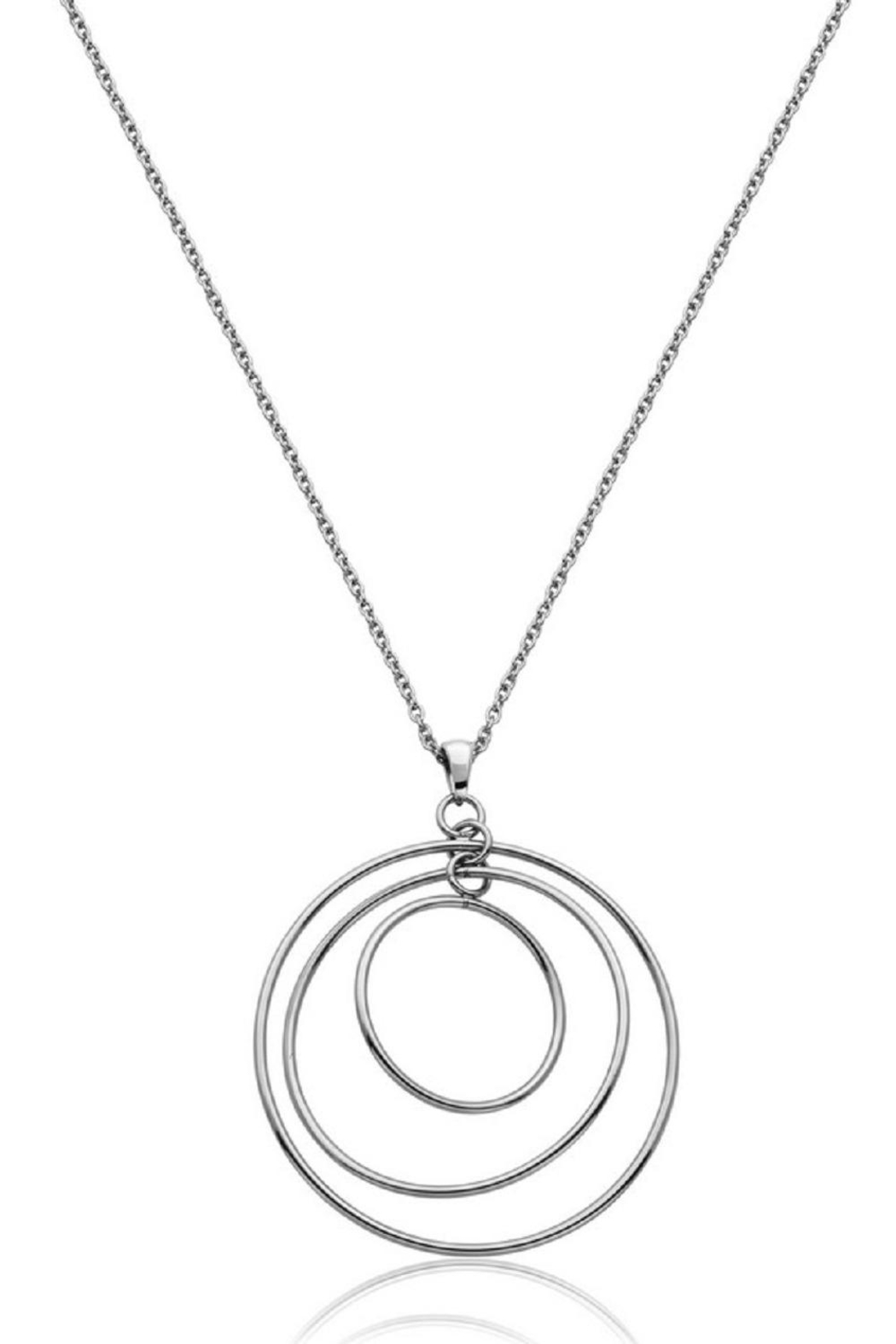 Bling It Around Again 3d Disc Necklace - Main Image