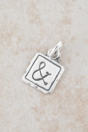 Bling It Around Again Ampersand Pendant - Front cropped